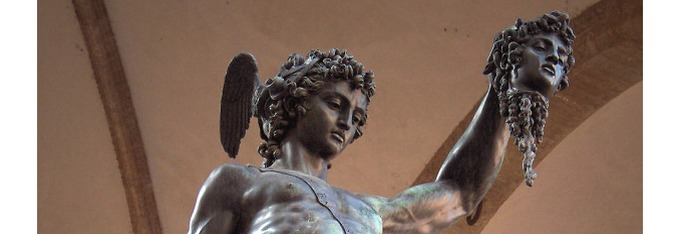 Perseus with the Head of Medusa by Benvenuto Cellini, the restoration is over!